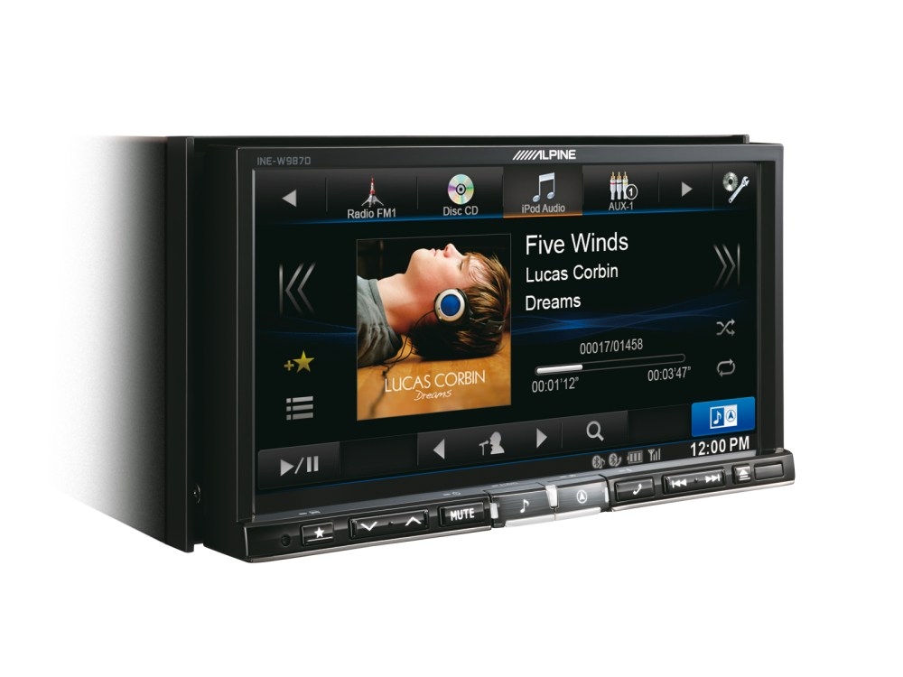 medium resolution of alpine double din stereo