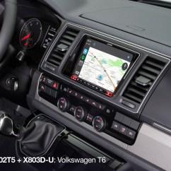 Vw Golf 5 Wiring Diagram For Trailer Socket 8 Inch Installation Kit Volkswagen T5 Facelift And T6 (7 H/e/j) - Alpine Kit-802t5