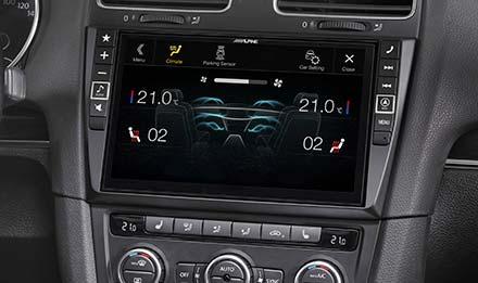 Navigacijski sustav za Volkswagen Golf 6  Alpine  X901DG6