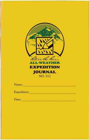 rite in the rain expedition journal