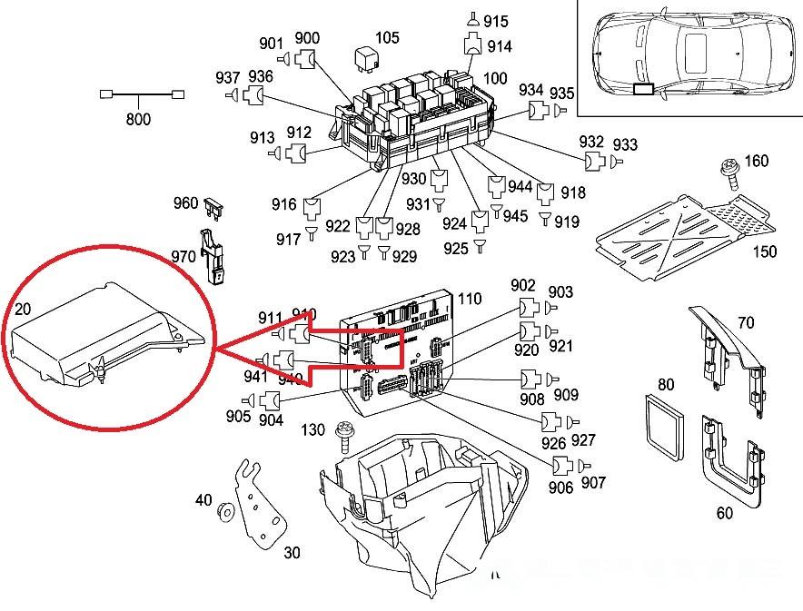 fuse box diagram 2007 mercedes slk 280