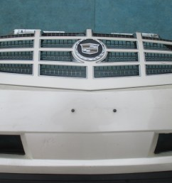 cadillac escalade front bumper cover with grille 350 00 condition  [ 1024 x 768 Pixel ]