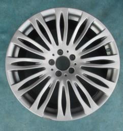 20 mercedes benz s class s400 s550 s600 rear wheel rim [ 1024 x 768 Pixel ]