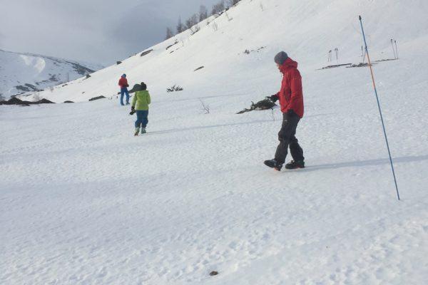 Nordic Ski avalanche course