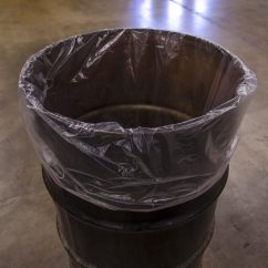 30 Gallon Kitchen Trash Can Best Design Program Liners, Clear Unprinted Poly Bags | Alpine Packaging