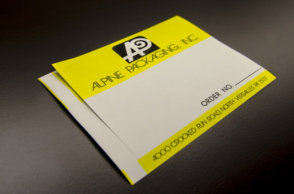 Mailing  Shipping Labels Custom Labels  Alpine Packaging