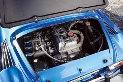 Alpine A110 1600S Moteur