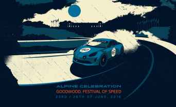 Alpine Cars Posters - 2
