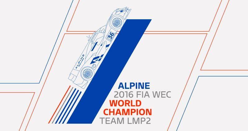 Signatech Alpine remporte les titres Équipes-Pilotes