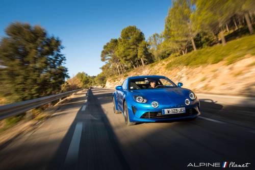 Notre essai de la nouvelle Alpine A110 sur route !
