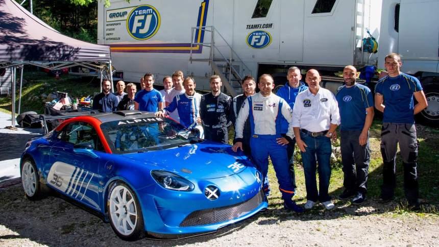 Le Team FJ devient le distributeur officiel de l'Alpine A110 Rally R-GT avec Signatech-Alpine