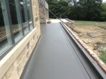 Roofing Flat Roof with Parapet
