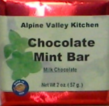 Chocolate Mint Bar