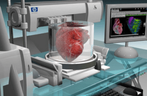 heart printing using high technology