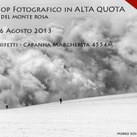 Workshop fotografico alpinistico Capanna Margherita Monte Rosa