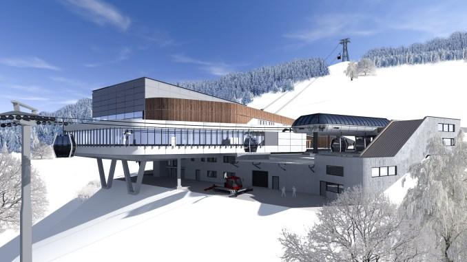 K-ONNECTION: Verbindung zwischen Kaprun und Kitzsteinhorn © MAB Architektur Projektmanagement