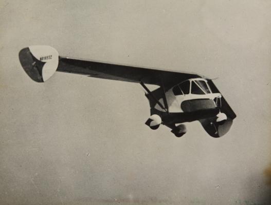 Uno de los protagonistas del capítulo dedicado a los coches-avión. (SDASM).