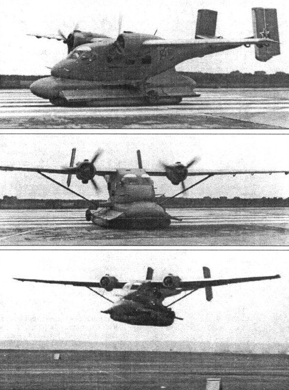 Un capítulo completo está dedicado a las formas de aterrizaje más extrañas, como por ejemplo este caso con colchón de aire. (Sandglass Patrol).