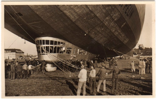 Imagen cercana del Graf Zeppelin
