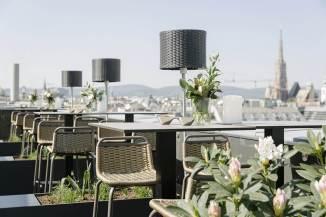 Rooftop-Bar Atmosphere