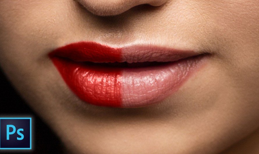 How to Create Realistic Lipstick in Photoshop