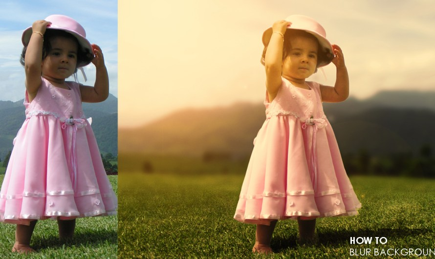 2  Simple Steps to Blur Background in Photoshop   Part-1-2