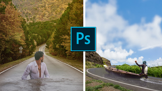 How to Blend Images to a Composite in Photoshop