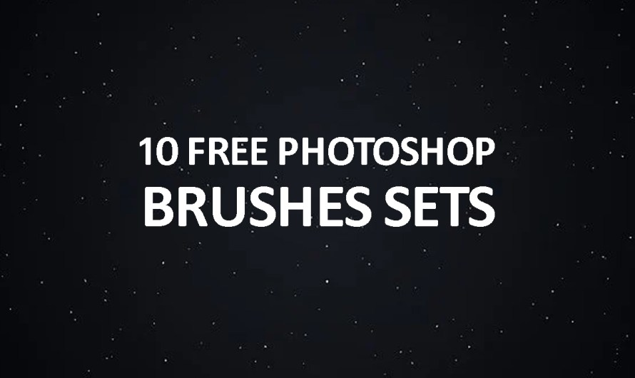 10 Free High Resolution Photoshop Brush Sets