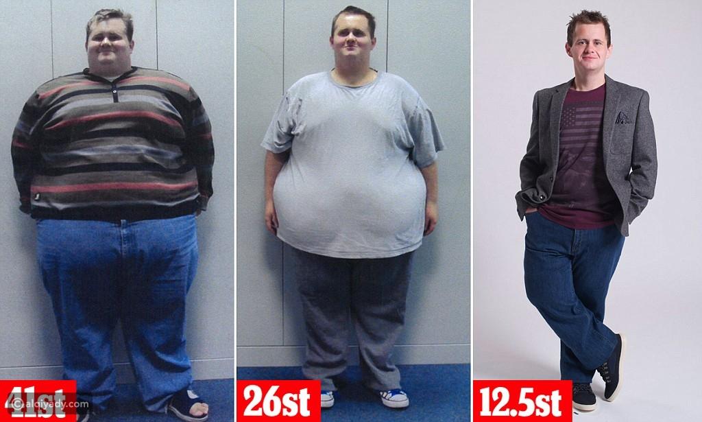 بريطاني يخسر 184 كغ من وزنه في عام ونصف! تعرف على الطريقة التي اتبعها
