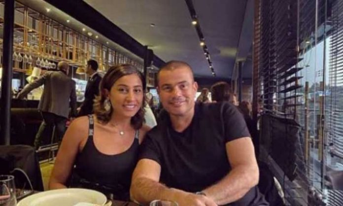 High artistic figures intervene to end the dispute between Amr Diab and Dina El-Sherbiny