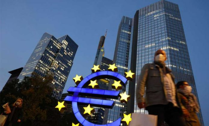 The European Central Bank maintains optimistic expectations about the euro zone economy, provided the isolation measures are lifted