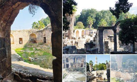 الحمّة قرية فلسطينية تاريخية وعيون ساخنة تتدفق منها مياه كبريتية وذكريات رومانية