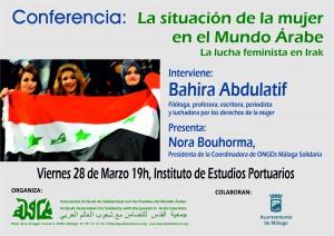 Conferencia Bahira Mujer Arabe 2014