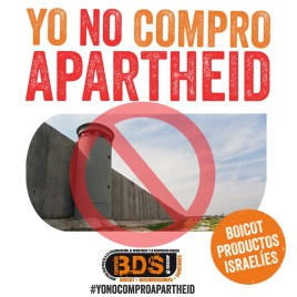 Logo#YoNOcomproApartheid