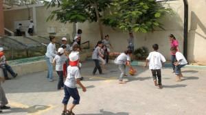 Campamentos infantiles en Gaza
