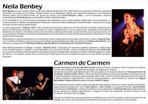 Cantantes de la XII Velada Musical de Gibralfaro 2013