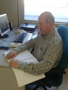 Entrevista a Alberto Gil Técnico de Biblioteca en la ONCE