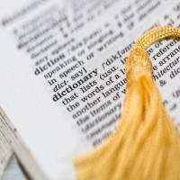 La división de palabras en el texto