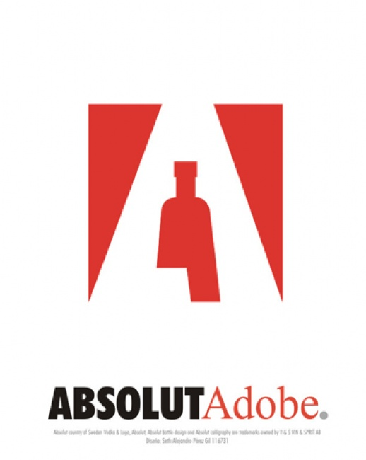 Figuras retóricas: Absolut Adobe