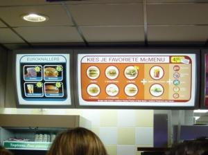 Diseño de Menú en Mc Donalds…