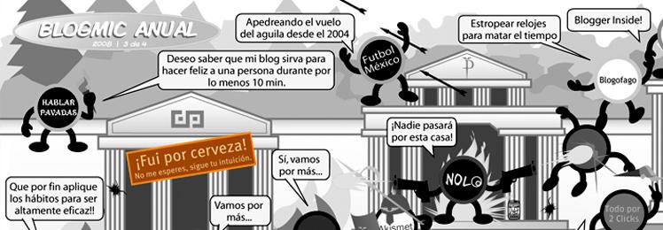 Tercer escenario del Primer Blogmic Anual 2008
