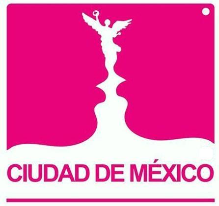 Logotipo 4: Ciudad de México Rosa