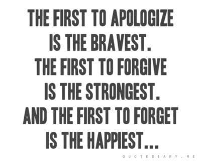 apology, apologize, say sorry