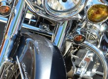 Chrome Motorcycle