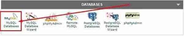 فتح Mysql Database