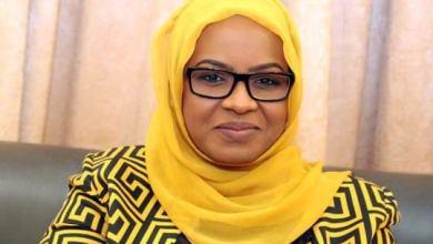 لينا الشيخ وزيرة العمل والتنمية الاجتماعية