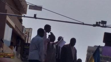 عضو سكرتارية شبكة الصحفيين السودانيينوالقيادي بتجمع المهنيين السودانيين الزميل علي فارساب