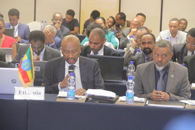 مفاوضات سد النهضة التي عقدت بالعاصمة الأثيوبية