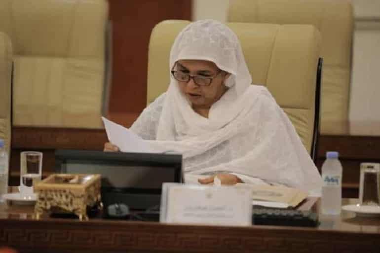 وزيرة التعليم العالي السودانية انتصار صغيرون