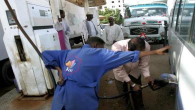 السودان - محطة وقود